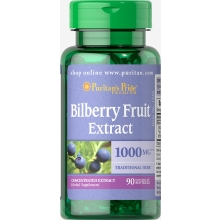 Bilberry - Myrtillusbeere/ 1000 mg / 90 Softgels
