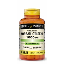 Ginseng (Korean) 1000 mg / 60 Tabl.