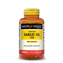 Garlic Oil / Knoblauch geruchlos / 100 Softgels
