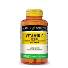 Vitamin C 500 mg CHEWABLE (Orange Flavor) 100 Tbl